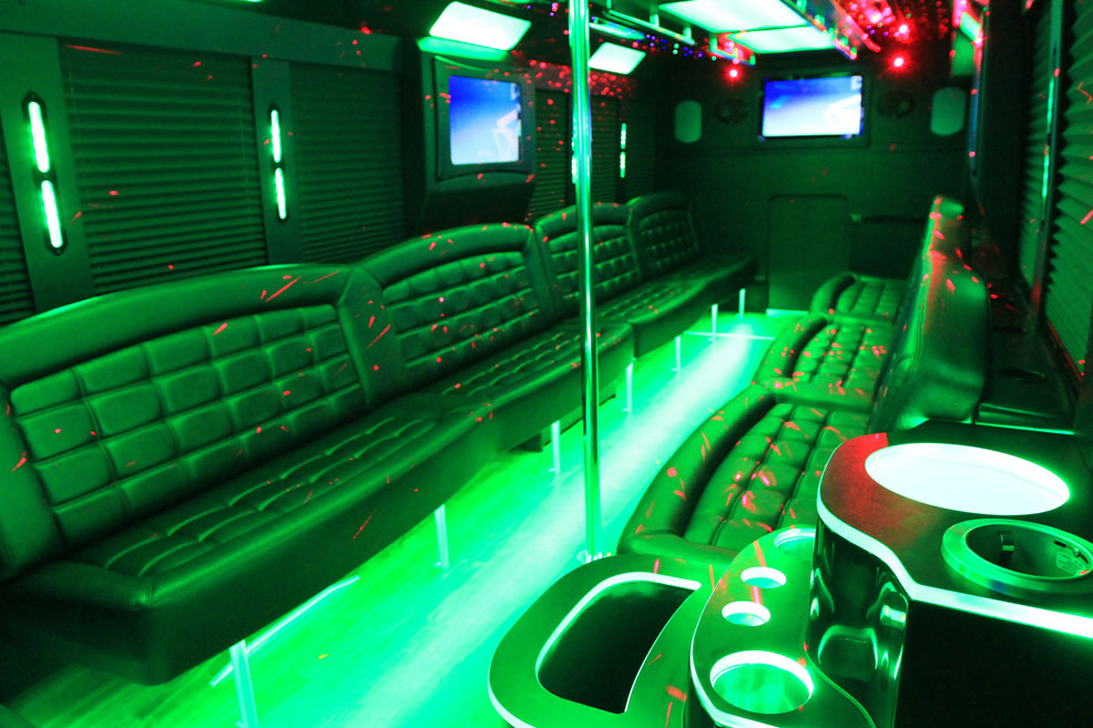 Houston Super Bowl Bus Transportation, Houston Party Bus Super Bowl